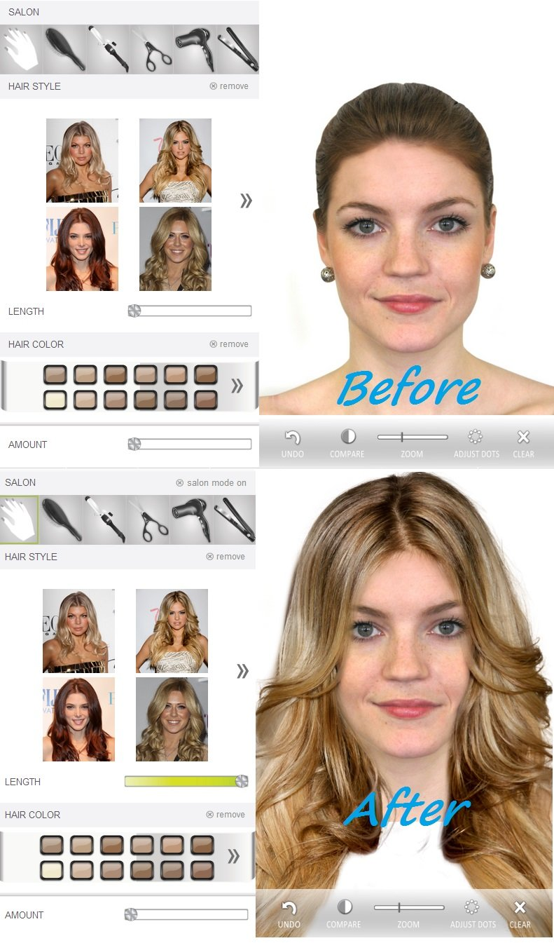 The Best Hollywood Hair Virtual Makeover Effects Hollywood Latest Pictures