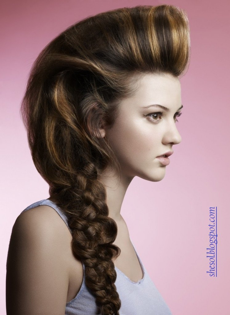 The Best She Sol New Ponytail Hairstyles For 2013 Pictures
