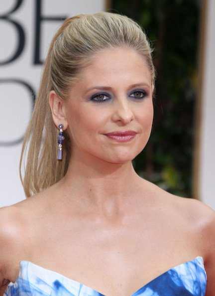 The Best Hairstyle Photo Sarah Michelle Gellar Ponytail Hairstyle Pictures