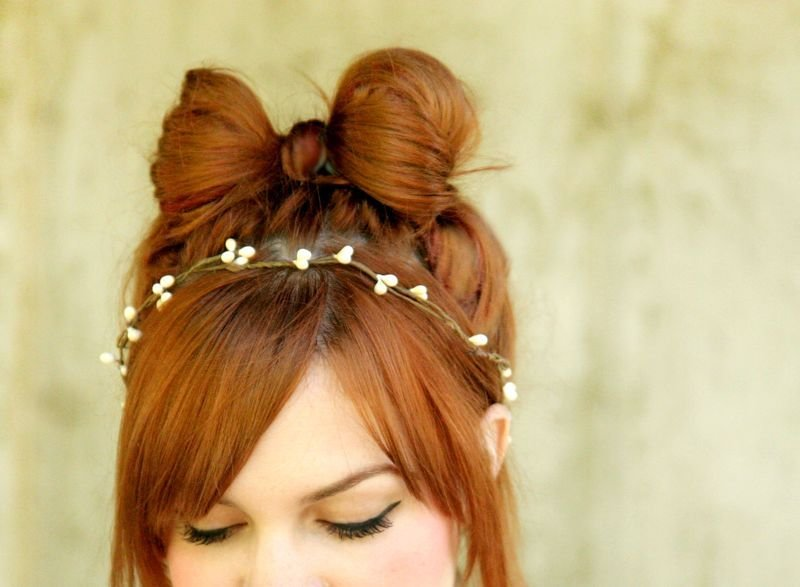 The Best How To Style A Hair Bow – A Beautiful Mess Pictures