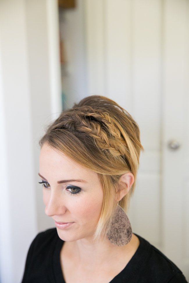 The Best Double Fishtail For Short Hair Easy Bob Or Long Pixie Pictures