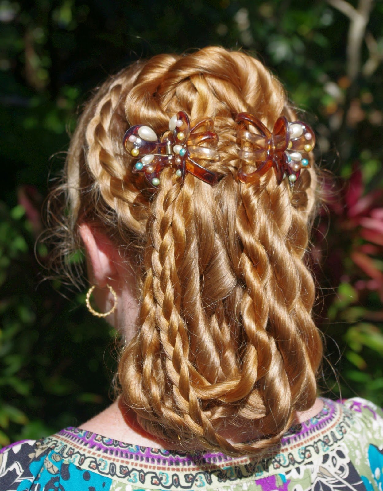 The Best Braids Hairstyles For Super Long Hair Fancy Multi Pictures
