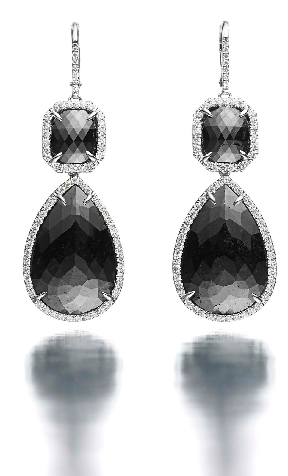 The Best She Fashion Club Black Diamond Earrings Pictures