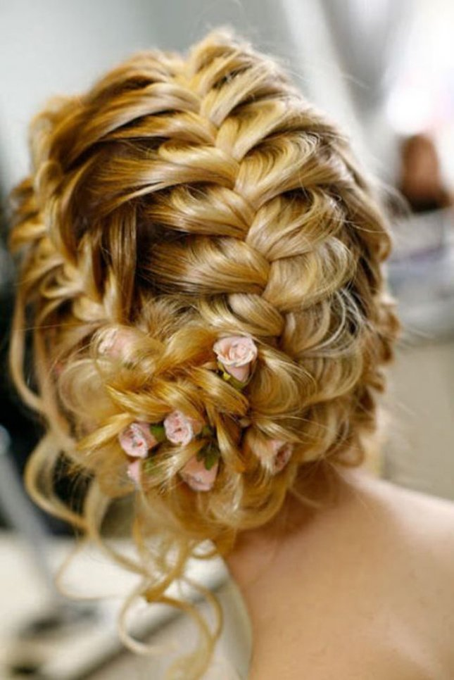 The Best Wedding Trends Braided Hairstyles Part 2 Belle The Pictures