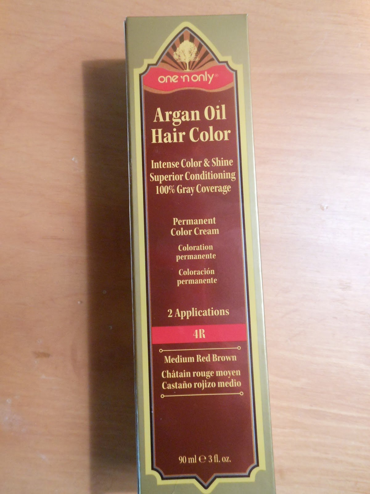 The Best Hair Experiment One N Only Argan Oil Hair Color 4R Pictures