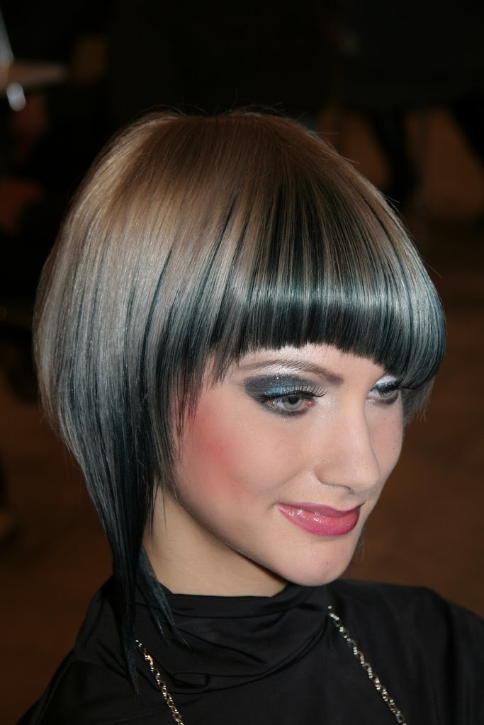 The Best Best Short Women Haircuts 2011 Best Short Bob Angled Inverted Asymmetrical Blunt Bobs Pictures