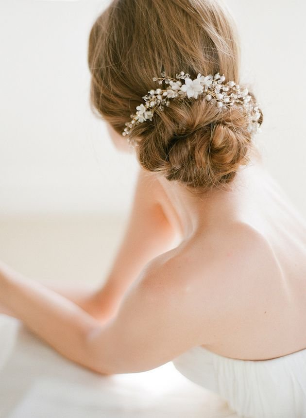 The Best Wedding Hair Inspiration 12 Gorgeous Low Buns Pictures