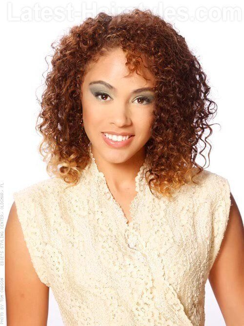 The Best How To Get Stunning Medium Length Curly Hair For All Occasions Pictures