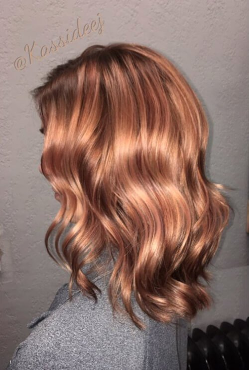 The Best 71 Smoking Hot Rose Gold Hair Color Ideas For 2018 Pictures