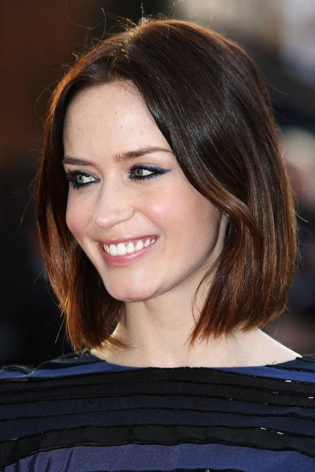 The Best New Celebrity 'Do Inspo 19 Blunt Cuts To Copy Brit Co Pictures