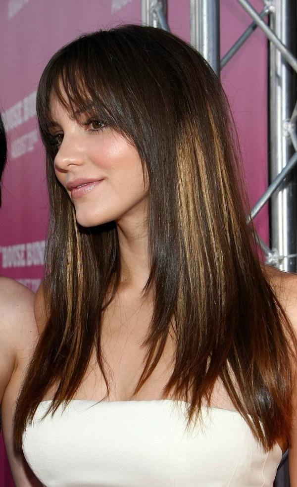 The Best 35 Brilliant Dark Brown Hair With Highlights Slodive Pictures