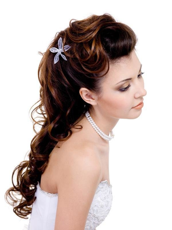 The Best 40 Hair Raising Wedding Hairstyles For Long Hair Slodive Pictures