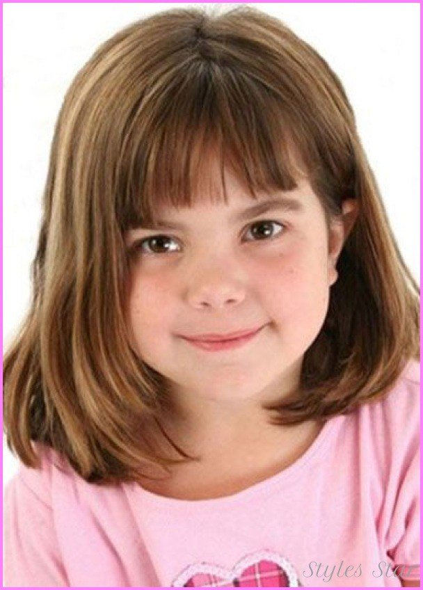 The Best Little Girls Haircuts With Bangs Stylesstar Com Pictures