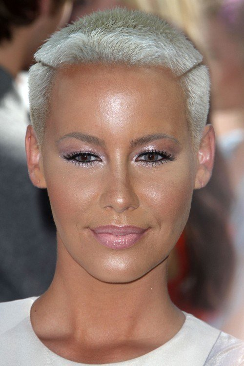 The Best Amber Rose S Hairstyles Hair Colors Steal Her Style Pictures