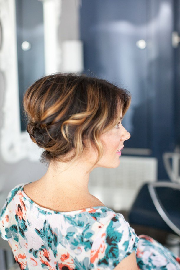 The Best Pretty Simple Updo For Short Hair Camille Styles Pictures