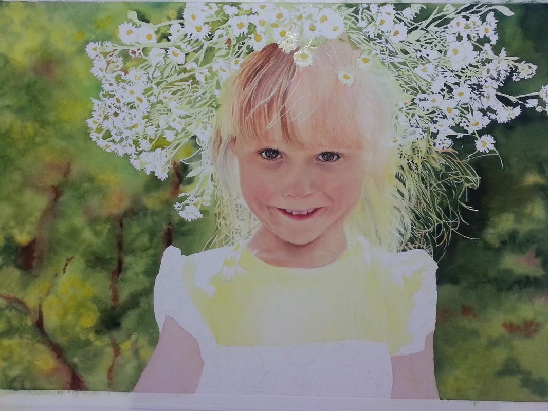 The Best How To Paint Blonde Hair In Watercolor The Art Of Susan Pictures