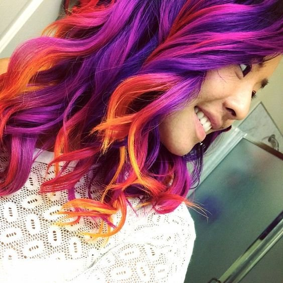 The Best Stunning Bright Hair Colors The Haircut Web Pictures