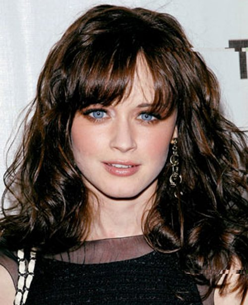 The Best Alexis Bledel Hairstyle 05 Fresh Look Celebrity Hairstyles Pictures