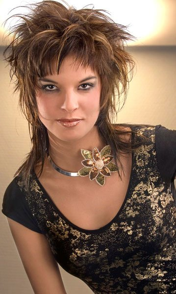 The Best Cute Medium Haircuts Short Funky Hairstyles Color Rich Pictures