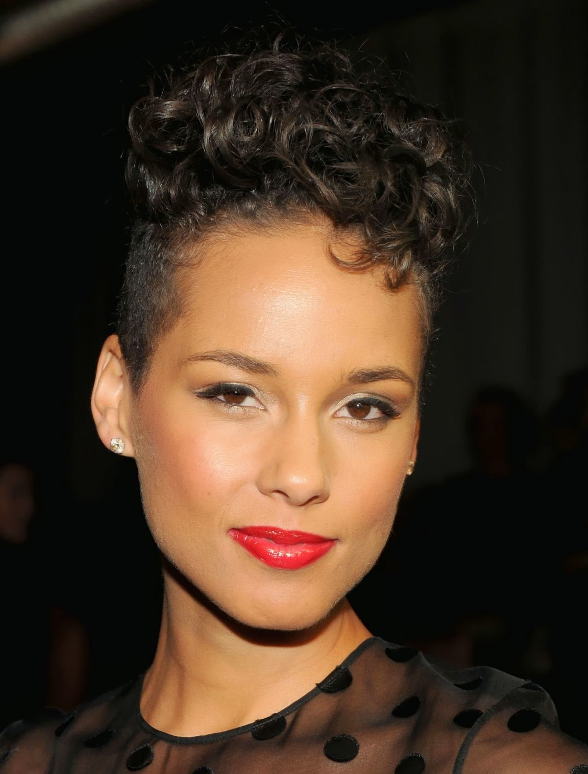 The Best Alicia Keys Hairstyles 2014 Pictures