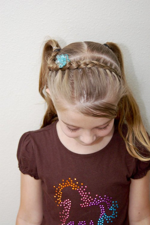 The Best Tress It Up Girls Hairstyles First Day Of Kindergarten Hair Pictures
