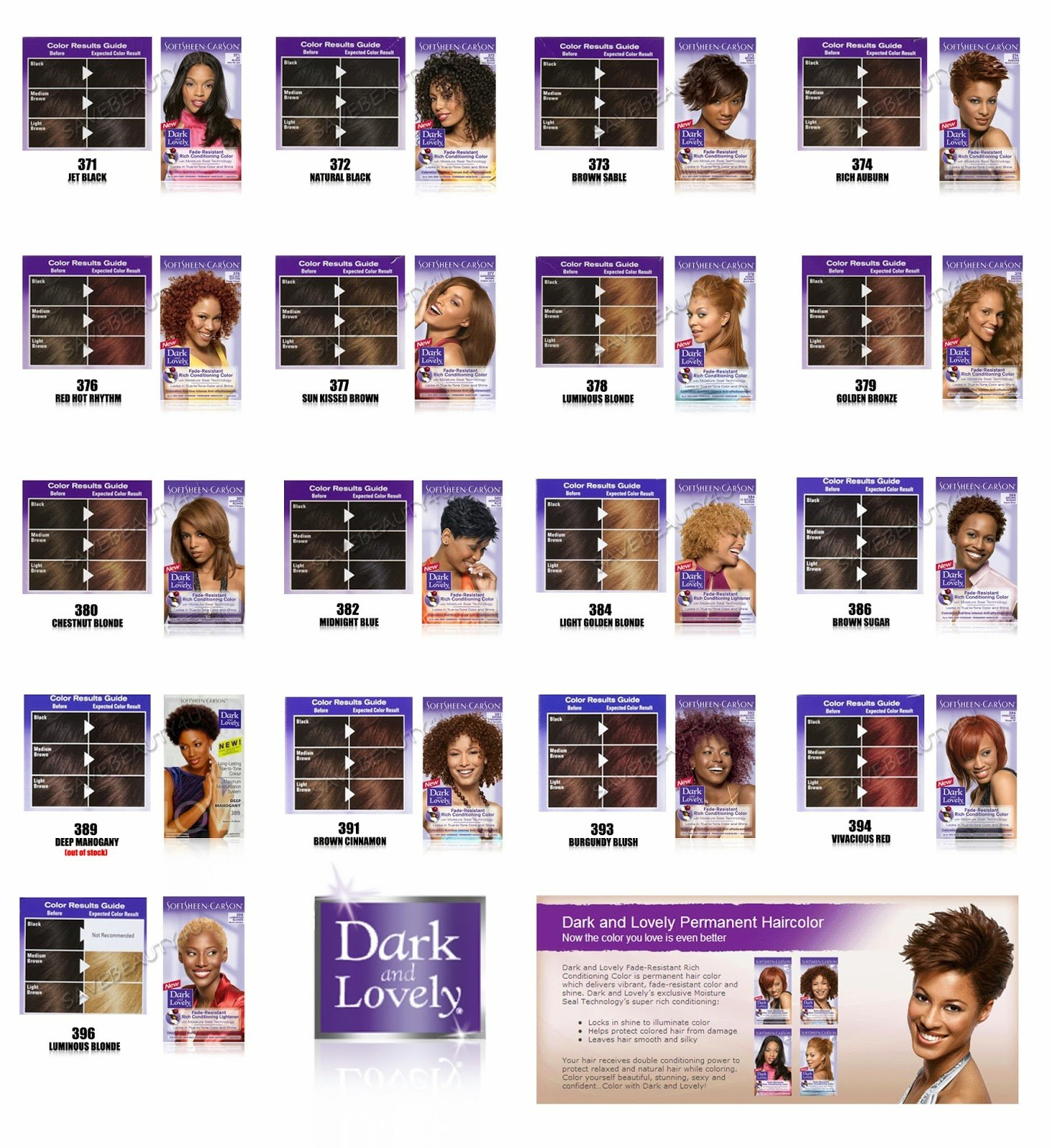 The Best Dark And Lovely Colour Intensity Amber Blonde Hair Dye Pictures