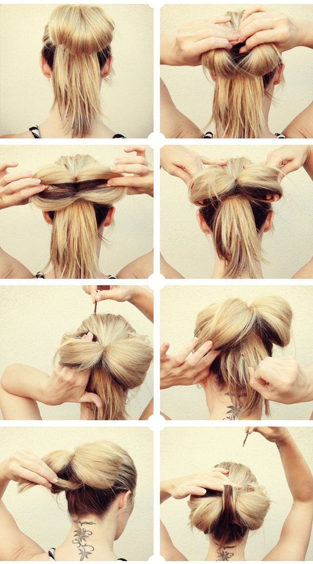 The Best Hair Tutorial Big Floppy Hair Bow Gaga In Real Life Love Maegan Pictures