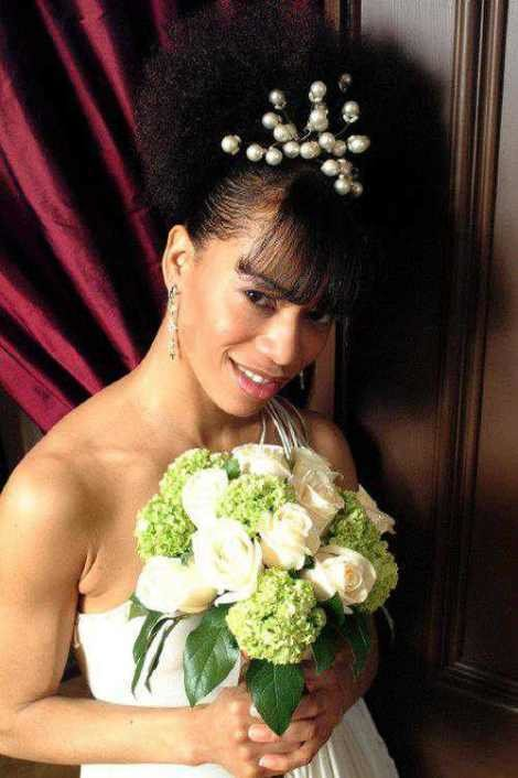 The Best 2014 Wedding Hairstyles For Black And African American Pictures