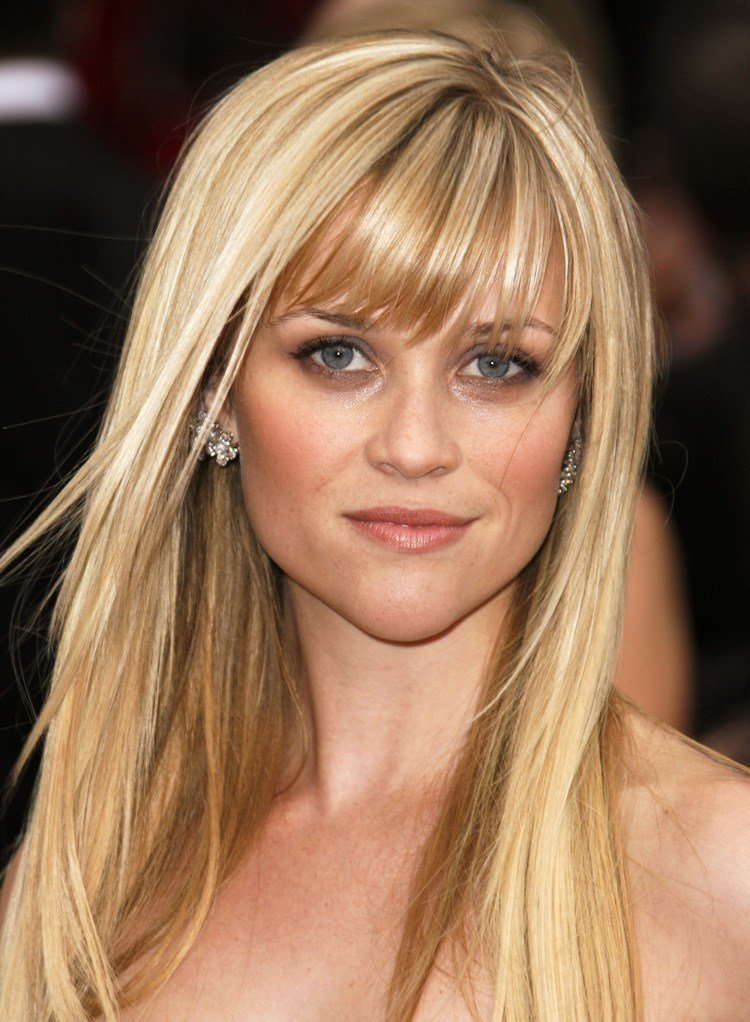 The Best Top 10 Celebrity Hairstyles With Full Bangs Fringes The Fashion Supernova Pictures