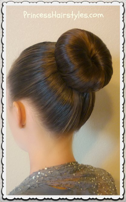The Best The Perfect Dance Bun And No Heat Curls Tutorial Hairstyles For Girls Princess Hairstyles Pictures