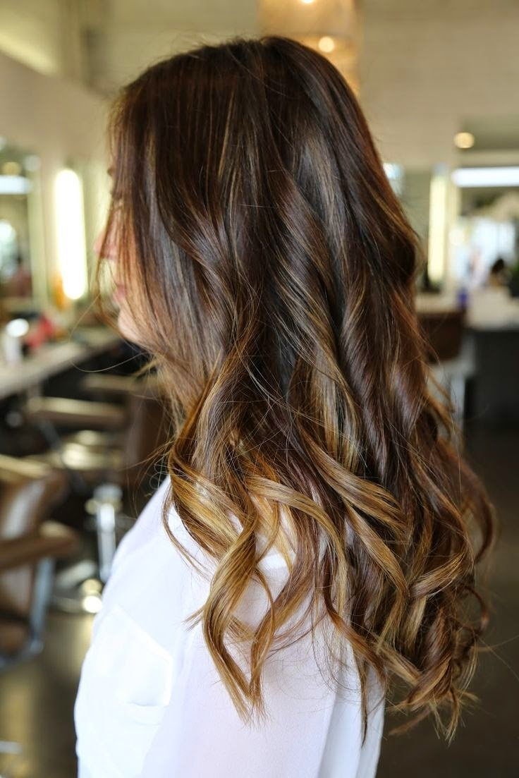 The Best 12 Flattering Dark Brown Hair With Caramel Highlights Pictures