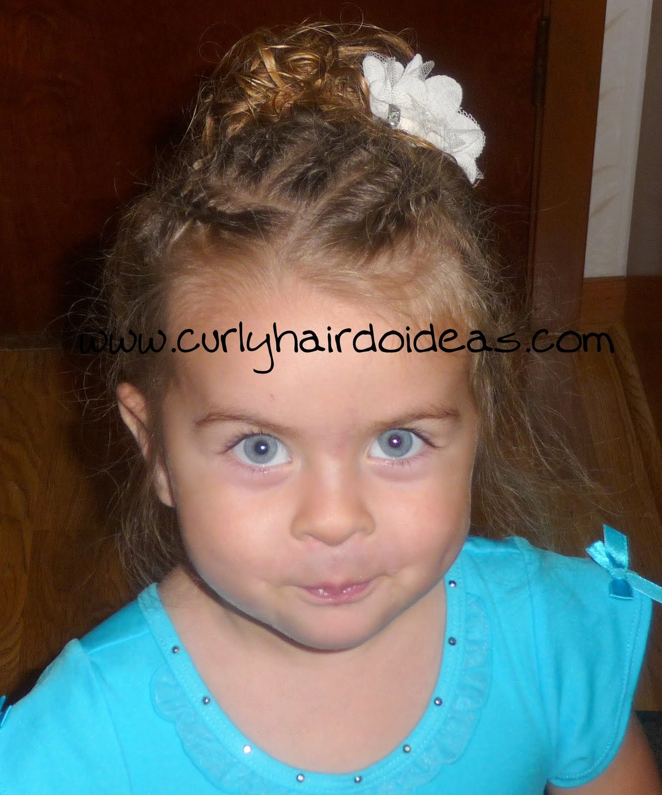The Best Curly Hairdo Ideas Toddler Hairstyle For Dance Class Pictures