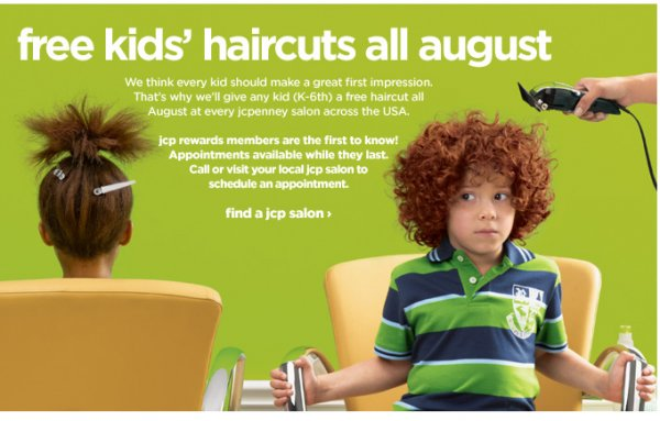The Best Fashion Herald Back To School Free Haircuts At Jcpenney Pictures