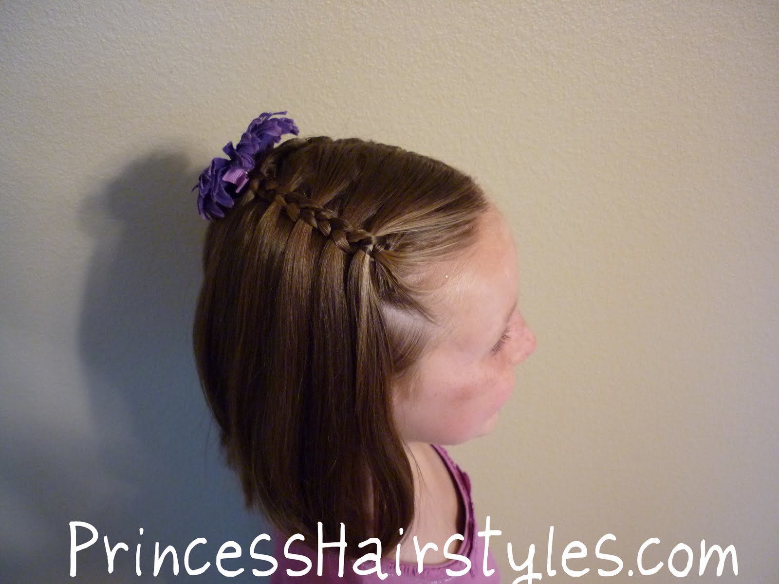 The Best Hairstyles For Girls No French Braid Floating Braid Pictures