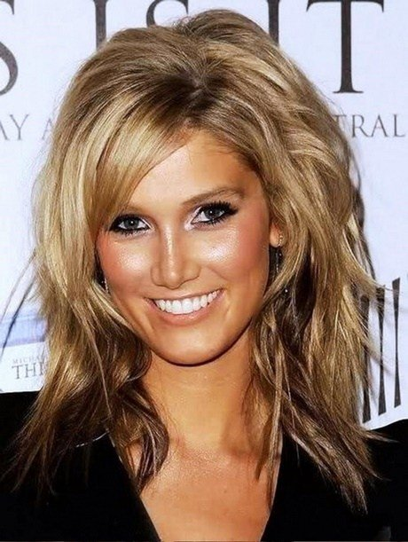 The Best Medium Length Haircuts No Bangs Pictures
