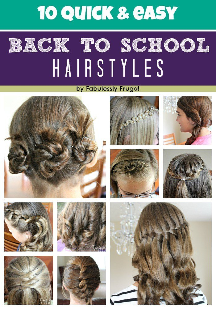 The Best 10 Easy Back To School Hairstyle Ideas Fabulessly Frugal Pictures Original 1024 x 768
