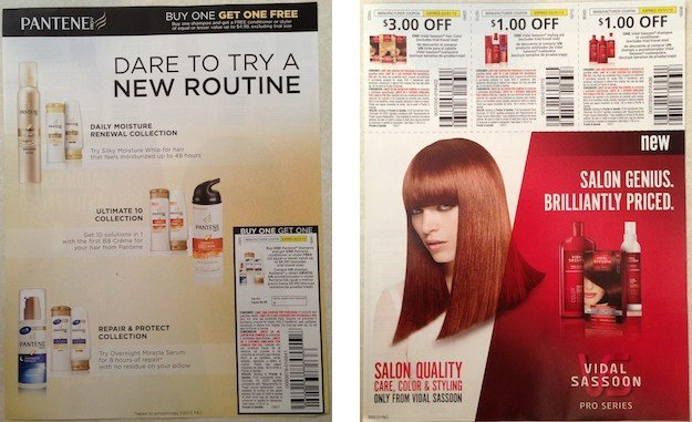 The Best Bonus Pantene And Vidal Sassoon Coupons In 2 17 Newspapers Pictures