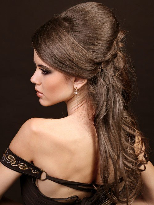 The Best Formal Hairstyles For Long Hair To The Side Pictures