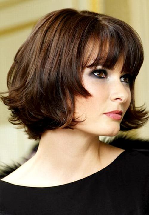 The Best Short Hairstyles For Women With Round Faces Pictures