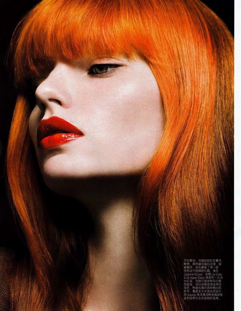 The Best Orange Hair Colour Pictures