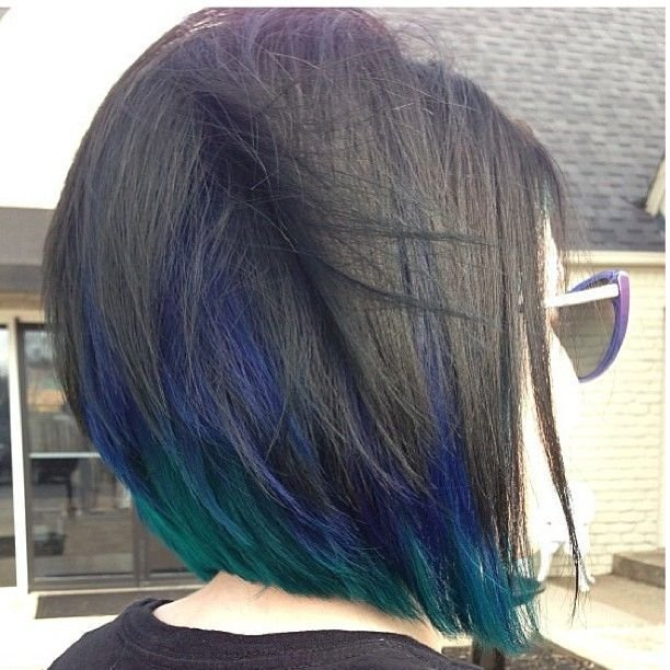 The Best Peacock Peekaboo Hair Colors Ideas Pictures