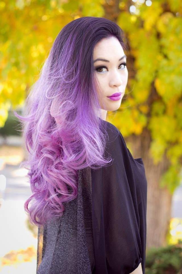 The Best Pinky Lilac Ombre Hair Colors Ideas Pictures
