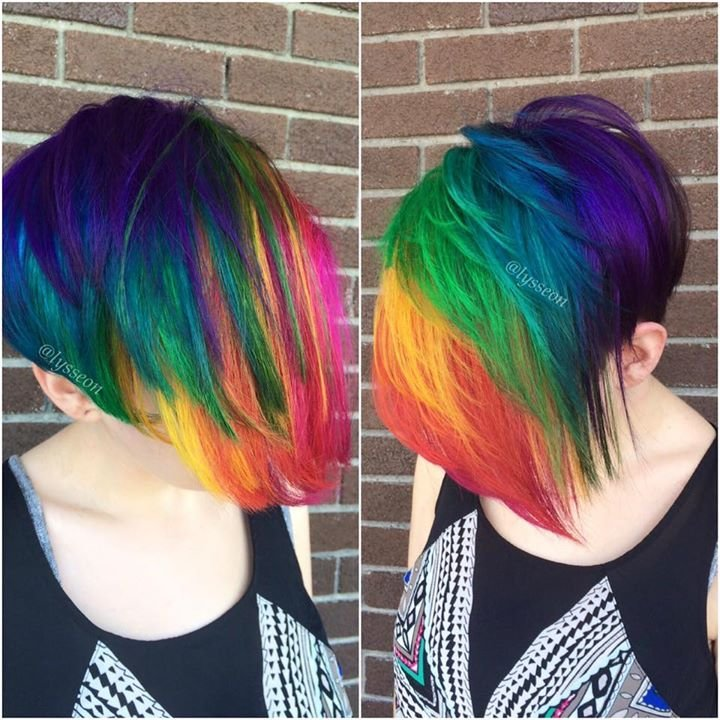 The Best Convertible Rainbow Hair Colors Ideas Pictures