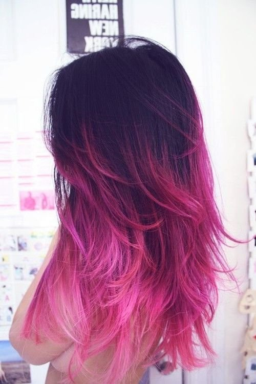 The Best 60 Trendy Ombre Hairstyles 2018 Brunette Blue Red Pictures