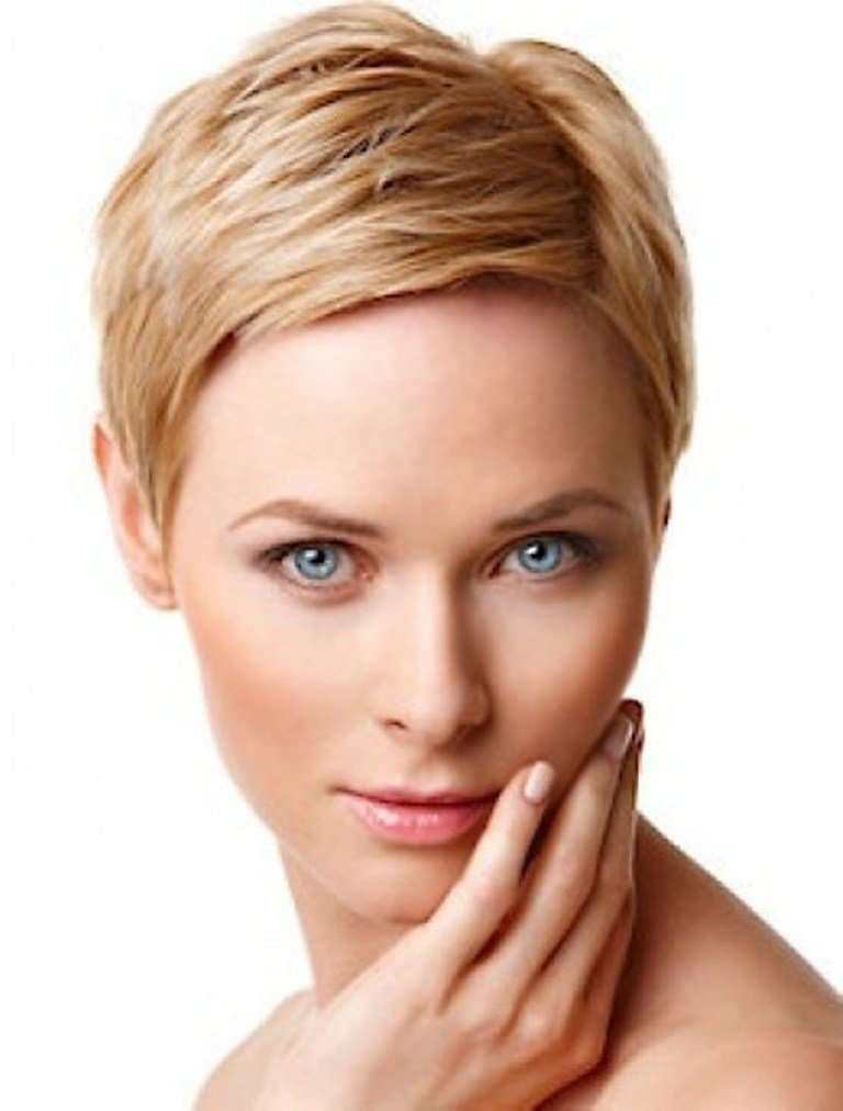 The Best Good Short Haircuts For Fine Hair Round Face 2014 Pouted Pictures