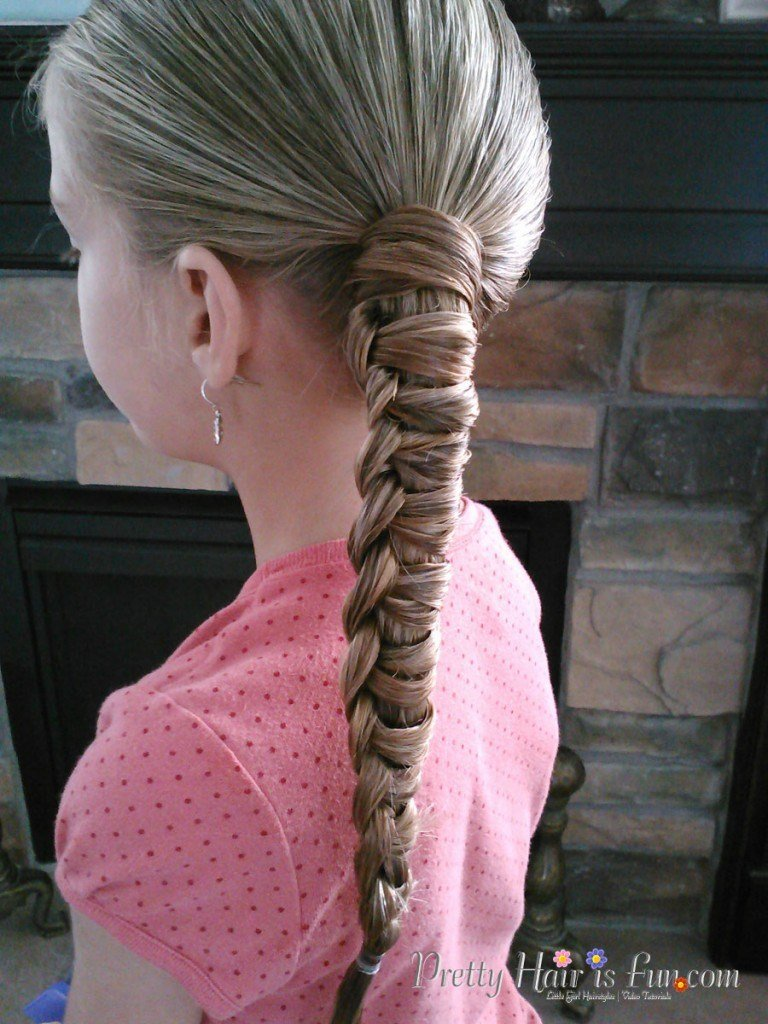 The Best Little Girl's Hairstyles How To Do A Chinese Staircase Pictures