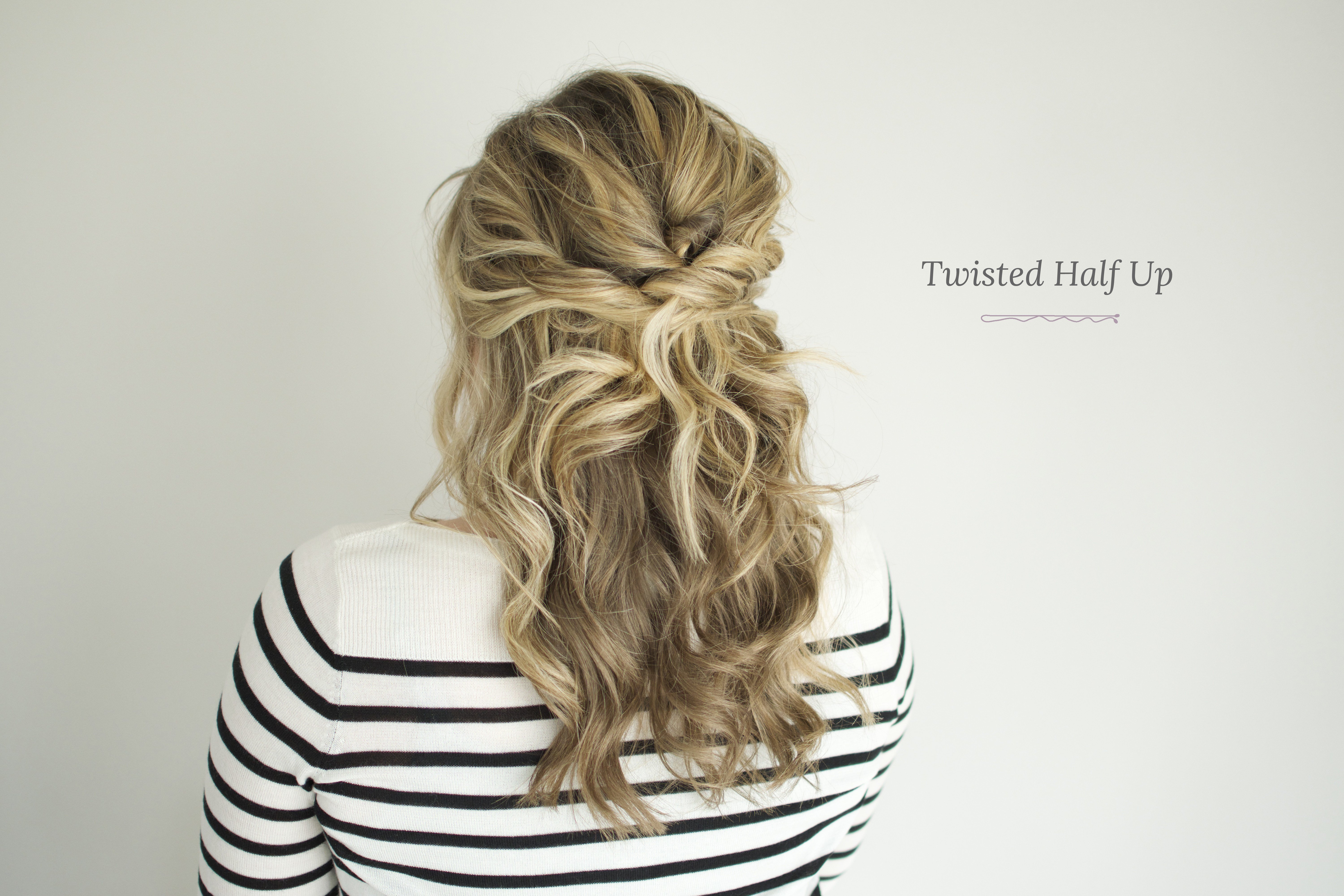 The Best Twisted Half Up Tutorial – The Small Things Blog Pictures