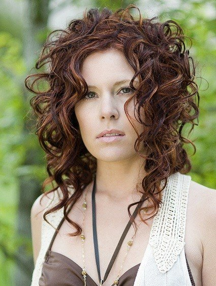 The Best Natural Curly Hairstyles The Xerxes Pictures
