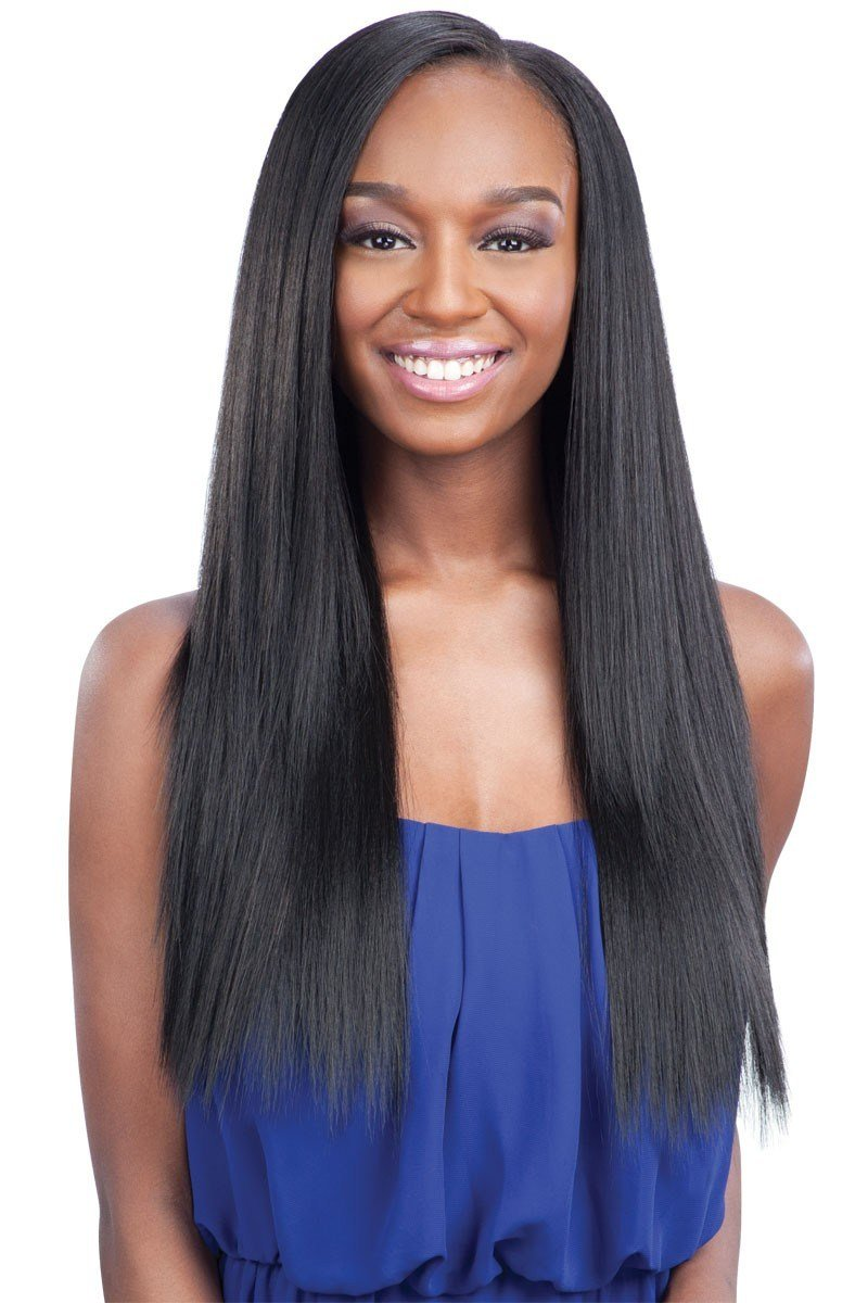 The Best Shake N Go Que Weave Human Hair Mix Malaysian Silk Press Pictures