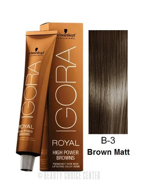 The Best Schwarzkopf Igora Royal High Power Browns Hair Color 2 1Oz Pictures